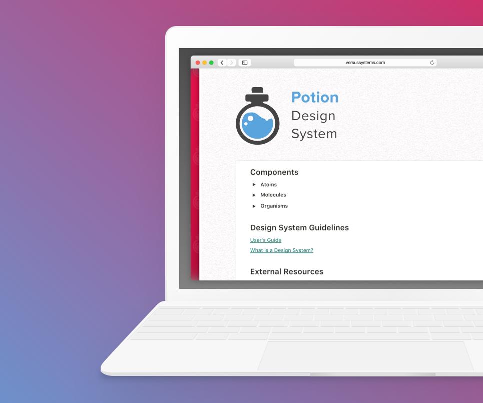 Potion Design System